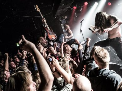 Kvelertak live by Marius Viken Photography
