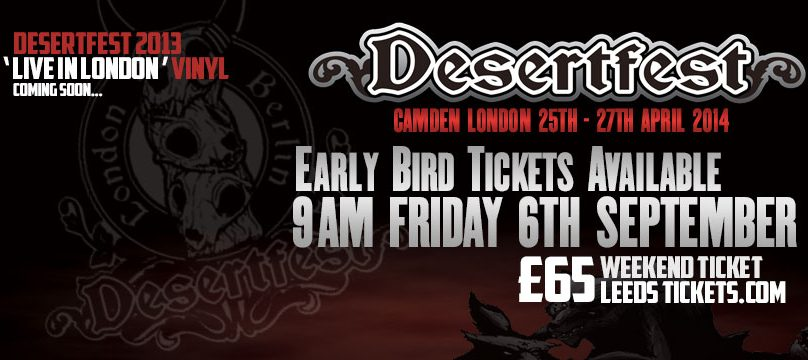 Desertfest 2014 early bird