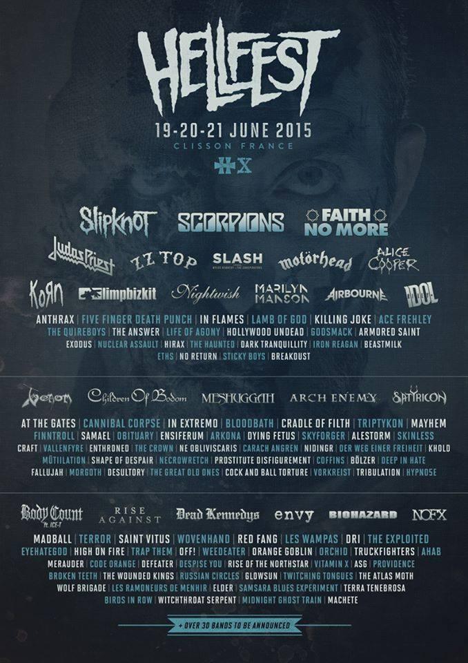 Hellfest-2015-lineup