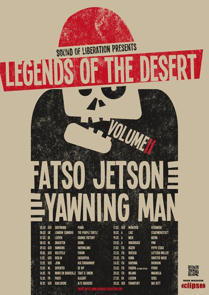 Legends Of The Desert Tour