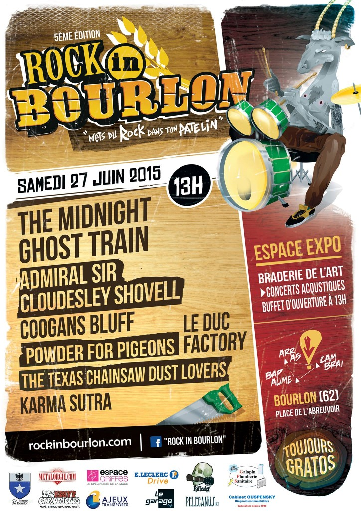 Rock In Bourlon 2015