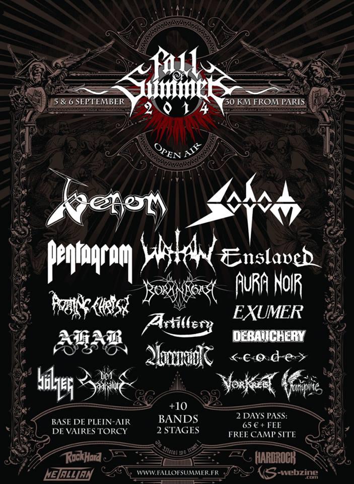 Fall Of Summer Fest 2014